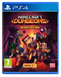 Minecraft Dungeons Hero Edition PL (PS4)