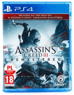 Assassin's Creed 3 Remastered PL (PS4)