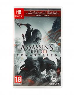 Assassin's Creed III Remastered PL/ENG (SWITCH)