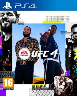 EA Sports UFC 4 PL/FR (PS4)