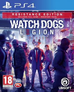 Watch Dogs Legion Resistance Edtion PL (PS4)