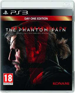 Metal Gear Solid V The Phantom Pain DAY1 (PS3)