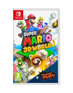 Super Mario 3D World + Bowser's Fury (NSW) + STEELBOOK + BONUSY!