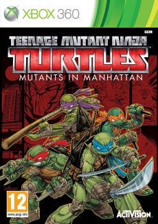 Teenage Mutant Ninja Turtles: Mutants in Manhattan  (X360)