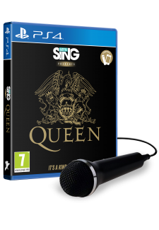 Let's Sing Queen + Mikrofon (PS4)