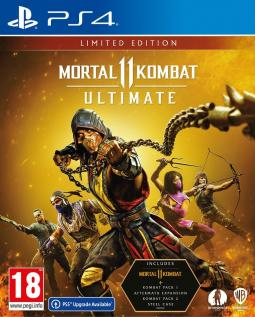 Mortal Kombat 11 Ultimate Limited Edition STEELBOOK PL (PS4)