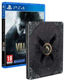 Resident Evil Village (PS4) + STEELBOOK