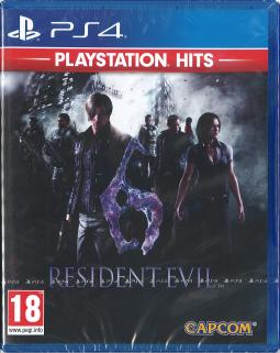 Resident Evil 6 HD PL (PS4)