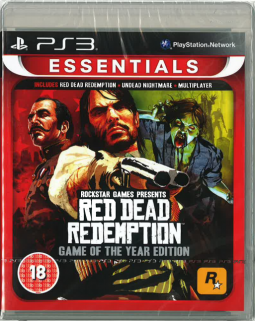 Red Dead Redemption PS3 GOTY